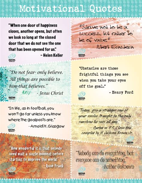 printable list of inspirational quotes positive quotes to print quotesgram