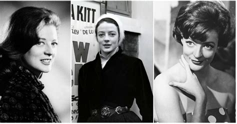 gorgeous black  white    young maggie smith  plays professor mcgonagall