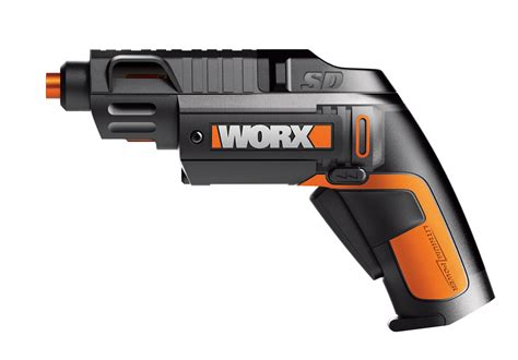 better worx new worx sd semiautomatic driver features revolving