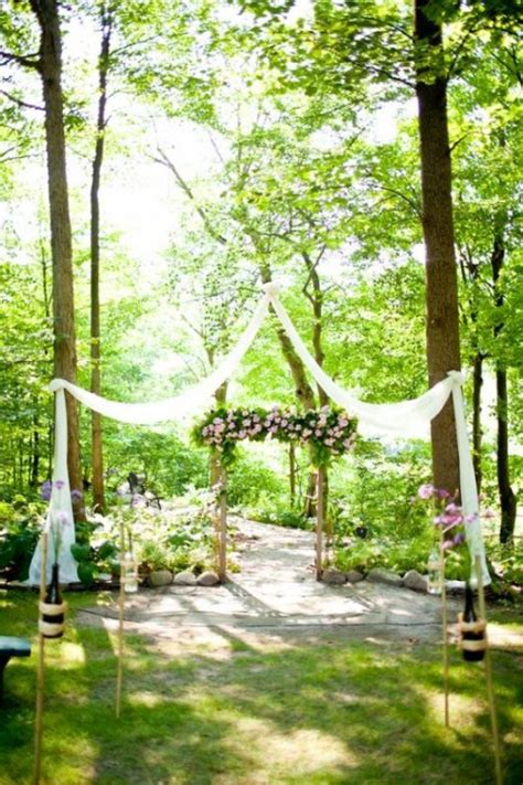 Backyard Wedding Ceremony Decoration Ideas 27 Amazing Backyard Wedding Ceremony Decor Ideas