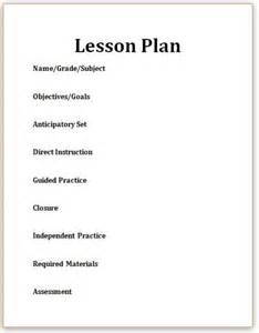 Bible Lesson Plan Template by 17 Best Ideas About Blank Lesson Plan Template On