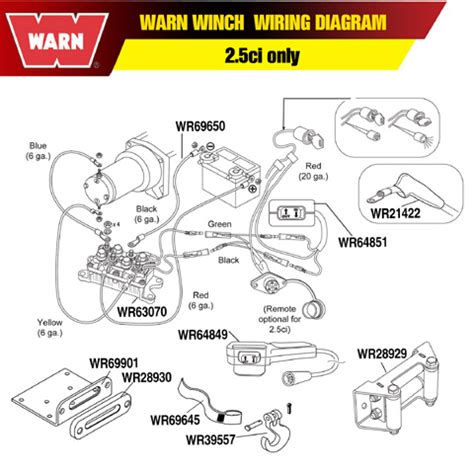 wiring diagram for winch solenoid for winch wiring diagram