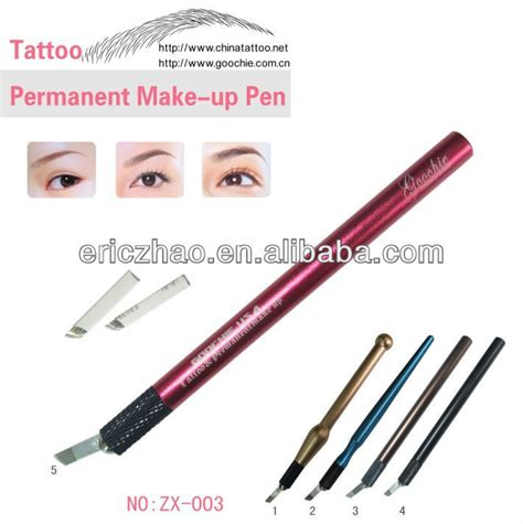 metal material eyebrow microblading tattoo pen for