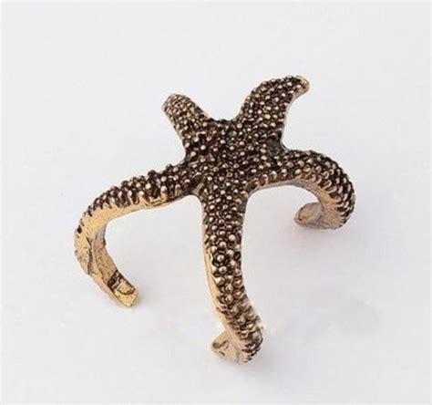 jewels starfish ring starfish jewelry mermaid jewelry
