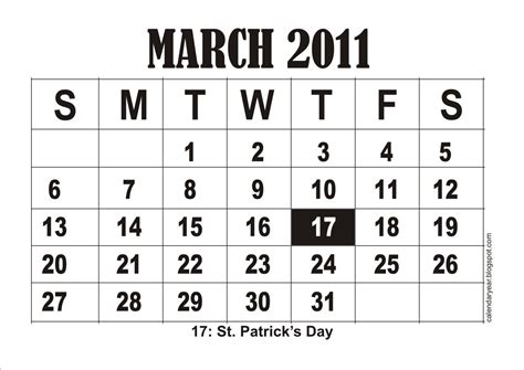 the english home february 2011 uk 187 download pdf calendar printable free printable march 2011 calendar