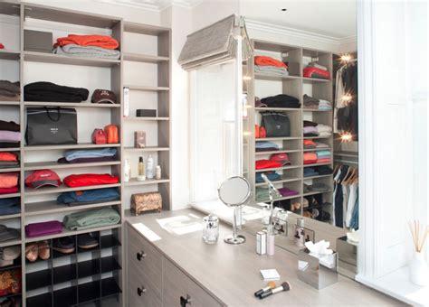 Vanity Inside Closet by Impressive Yet Walk In Closet Ideas Freshome