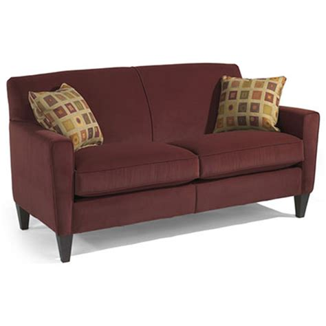 flexsteel digby sofa flexsteel 5966 30 digby sofa discount furniture at hickory