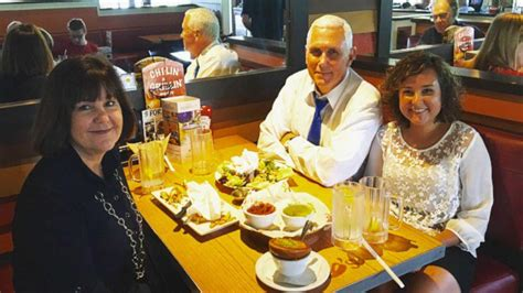 mike pence annoys new yorkers after tweeting his dinner at gov mike pence s tweet about new york chili s creates