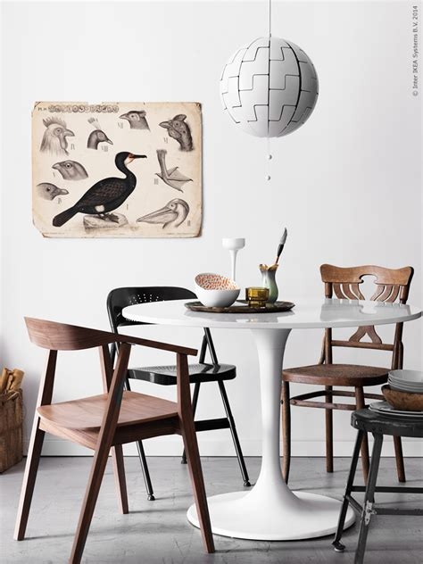 Table Design Inspiration by Runda Av Med Docksta Ikea Livet Hemma Inspirerande