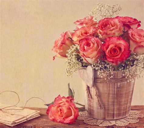 imagenes onda retro vintage roses fondos de pantalla gratis para android