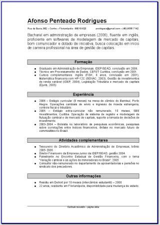 Modelo Curriculum Hospital Baixar Modelos De Curriculum