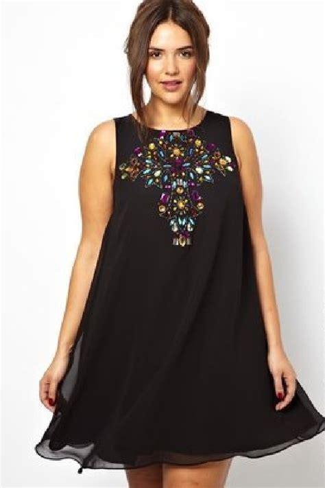 fashion for curvy swing dress