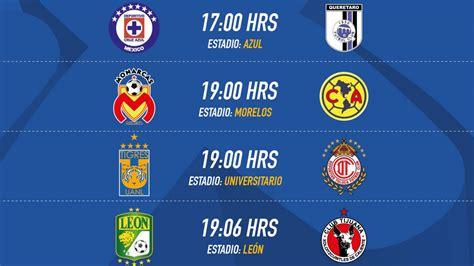 Calendario De Todas Las Ligas De Futbol Fechas Y Horarios De La Jornada 5 Clausura 2017 De La