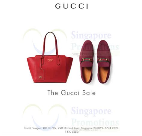 Sale Gucci Selempang 260 gucci sale at paragon from 31 may 2016