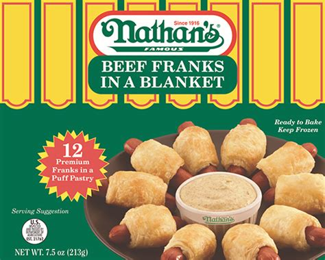 Sosi Beef Frank Cheese nathan s gourmet appetizers perfection foods