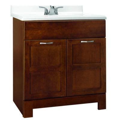 glacier bay bathroom cabinets glacier bay casual 30 in w x 21 in d x 33 5 in h vanity