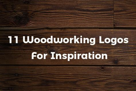 woodworking logo ideas 11 woodworking logos for inspiration