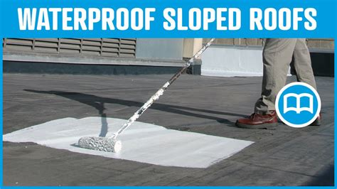 Waterproof roof, Prevent water infiltration through roof