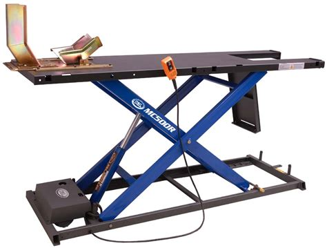 motorcycle lift service tables