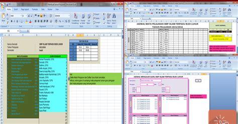 cara membuat model jadwal baru template jadwal sd aplikasi untuk membuat jadwal pelajaran sekolah dengan