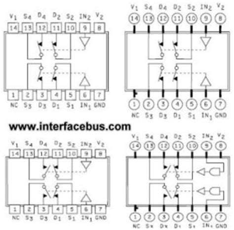 analog switch integrated circuit glossary of electronic and engineering terms ic analog switch dpdt chip