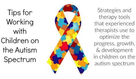 7 Tips On Working With Autistic by Some Of Our Tips For Working With Children On The Autism