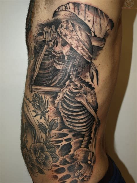 the black tattoo fish skeleton tattoos