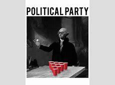 George Washington Political Party T-Shirt Men's Ties