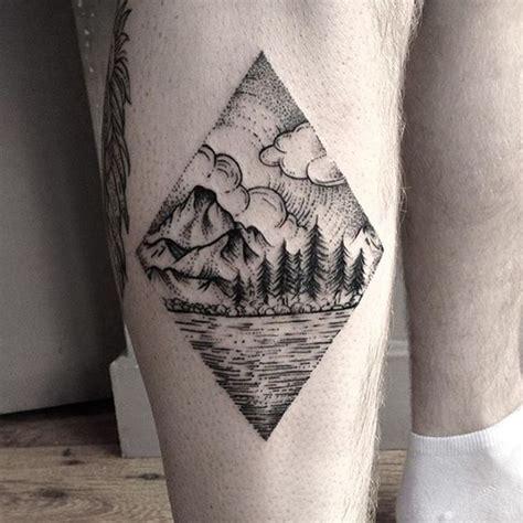 diamond nature tattoo 30 amazing dot work tattoo ideas