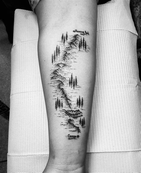 tr st tattoos designs best 25 hiking ideas on