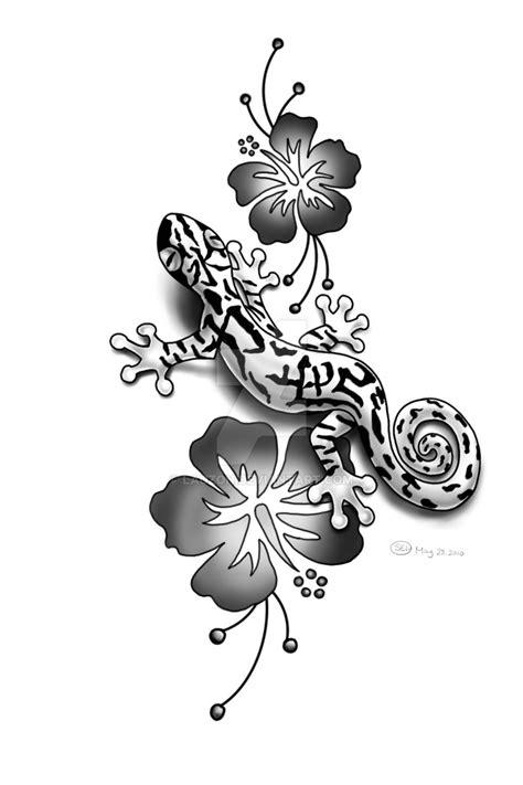 unique flower tattoo designs gecko tattoos askideas