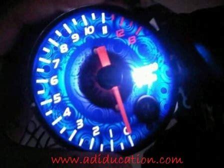 Lu Led Untuk Motor Satria Fu spidometer variasi warna untuk satria fu jadikan tilan