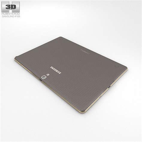 Samsung Galaxy Tab S 10 Inch samsung galaxy tab s 10 5 inch titanium bronze 3d model