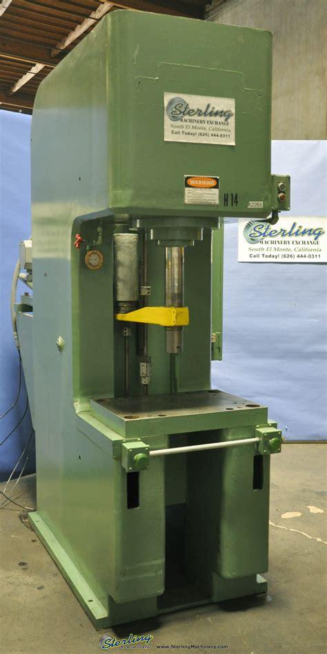 denison hydraulic  frame press sterling machinery