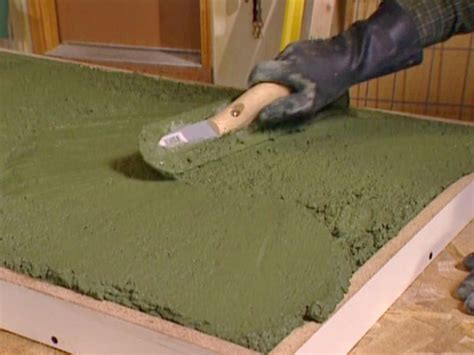 How To Make Cement Countertops by How To Build A Concrete Countertop How Tos Diy
