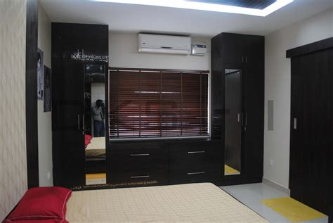 Bedroom Dressing Units Residential Interior Design For Mr Keerthivarman