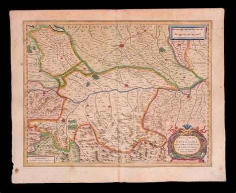 pavia cartina geografica carte geografiche lombardia