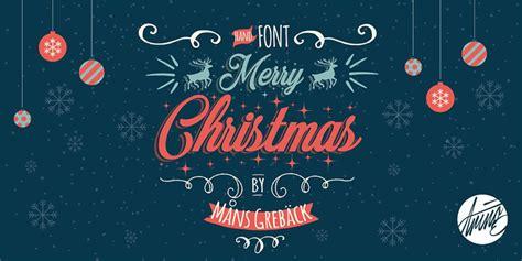 merry christmas font befontscom