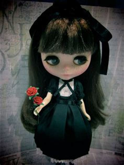 imagenes satanicas kawaii blythe gothic steam punk green royal plaid by