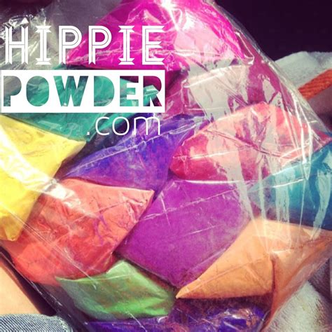 colored cornstarch packets of colored cornstarch by hippie powder at