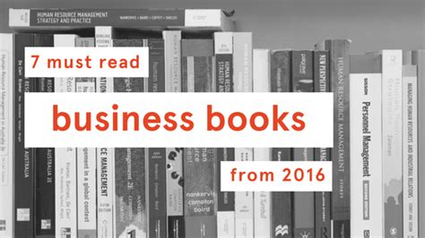 Free To Read Mba Books by The Big Opportunity 7 Must Read Business Books From 2016