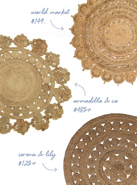 Design My Apartment Online must have for the home the round jute rug coco kelley