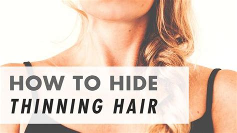 hairstyles to cover hair extensions how to hide thinning hair disguise cover thinning hair