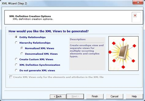 blogger xml template generator h select entity relationships click finish and