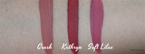 anastasia beverly hills liquid lipstick in crush swatches anastasia beverly hills liquid lipstick kathryn crush