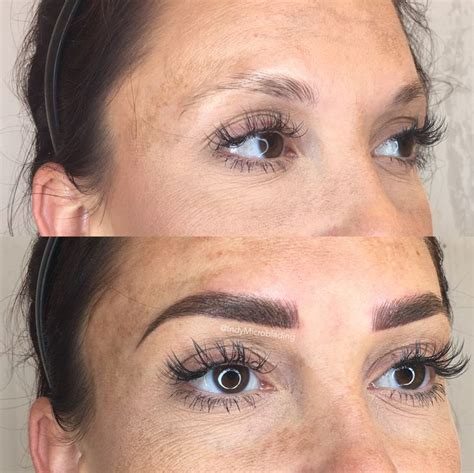 eyebrow tattoo aftercare indy microblading eyebrows on fleek microblading
