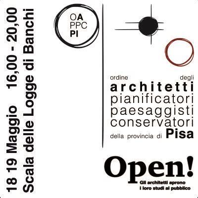 Studi Architettura Pisa by Ordine Architetti P P C Di Pisa Open