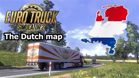netherlands map ets2 the map 1 25 x ets2 world