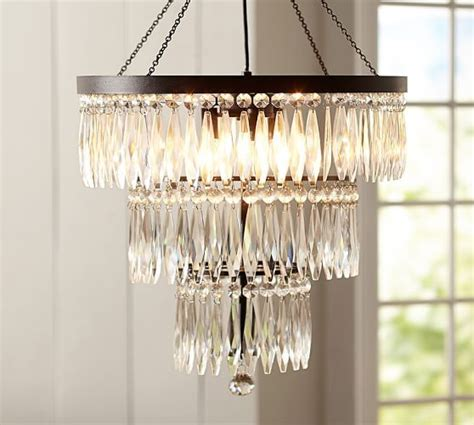 Pottery Barn Adele Chandelier 101 Best Images About Chandeliers Ls All Kinds On Allen Roth Glass Pendants And