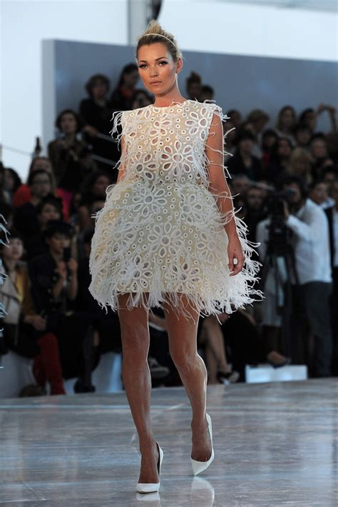 Catwalk To Photo Shoot Cbell In Louis Vuitton On The Cover Of Espana by Kate Moss In Louis Vuitton Runway Fashion Week